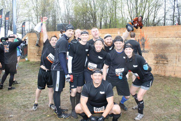 Starting the Tough Mudder