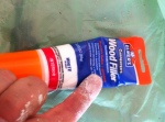 Elmers Wood Filler and my finger