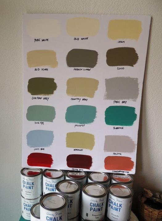Sweet Visit Alabama My 25 Things Annie Sloan Chalk Paint Colors