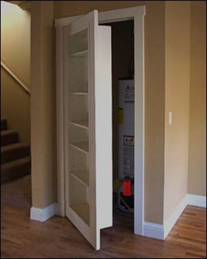 plans for bookcase doors