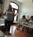 Shaunna leading workshop